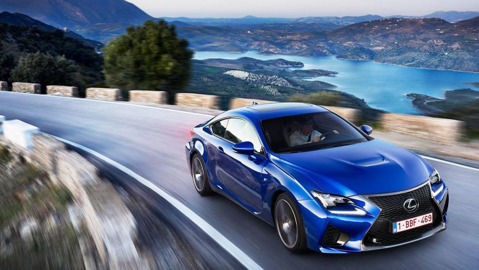 Los 10 deportivos más vendidos en noviembre en España - Lexus RC - 26 unidades