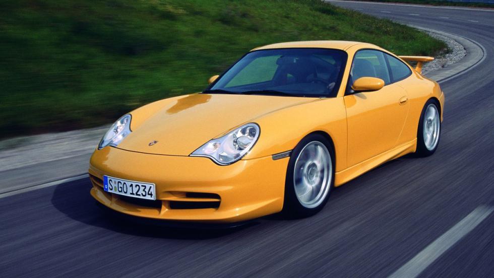 5 deportivos más lentos que el Stelvio QV en Nürburgring - Porsche 911 -996- GT3