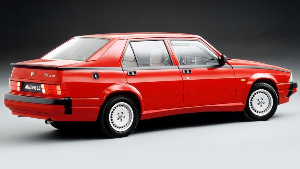 Alfa Romeo 75 Quadrifoglio Verde - 1985