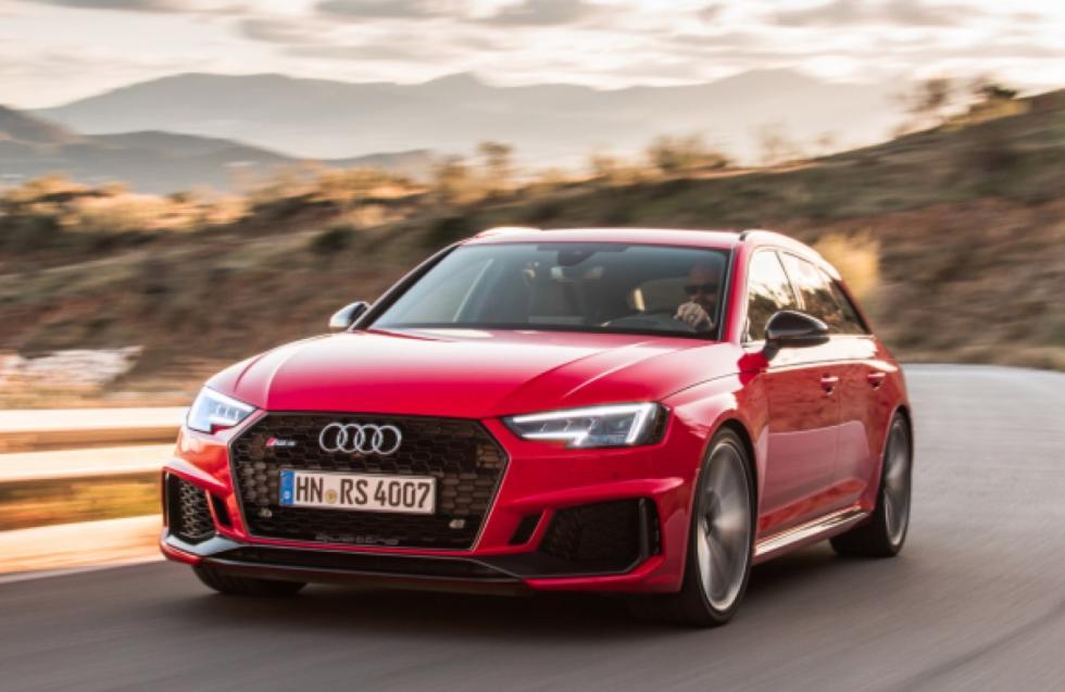 Prueba Audi RS 4