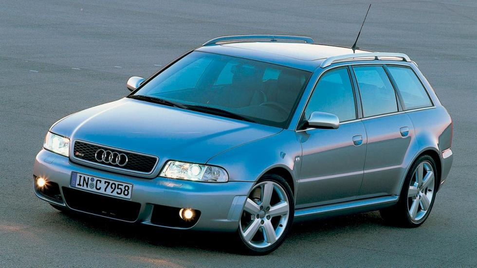 Audi RS4 B5 familiar deportivo lujo