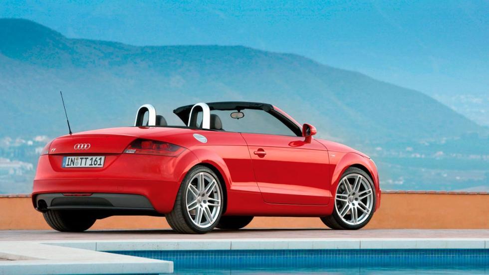 Audi TT descapotable MkII deportivo lujo segunda mano