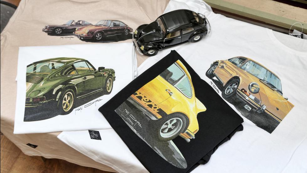 Camisetas Porsche Manu Campa