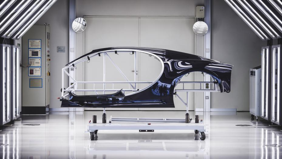 Fabricación Bugatti Chiron (II)