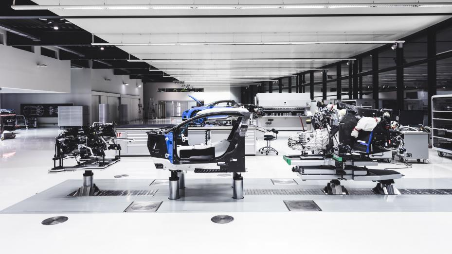 Fabricación Bugatti Chiron (VIII)