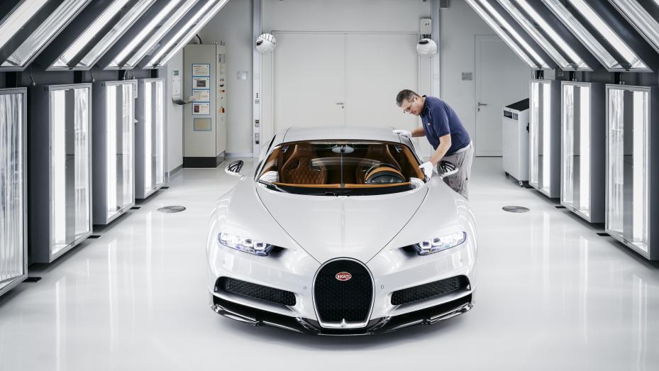 Fabricación Bugatti Chiron (XII)