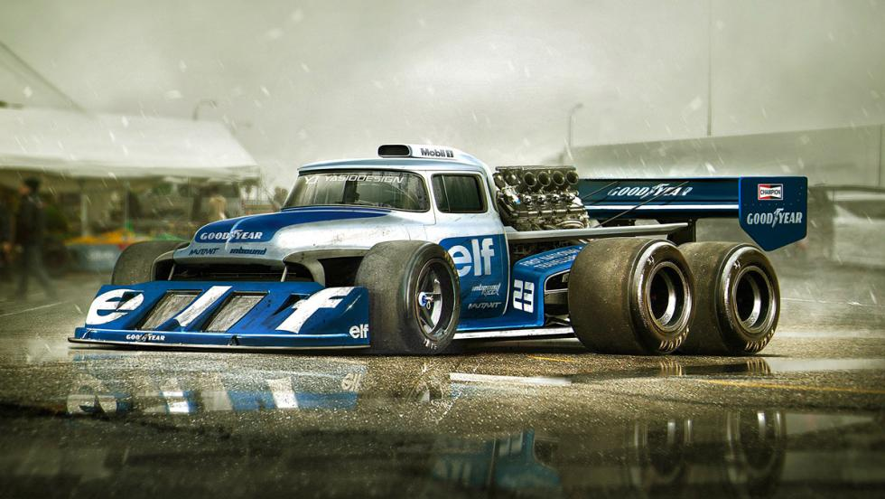 Ford F-150 TyRrell P34