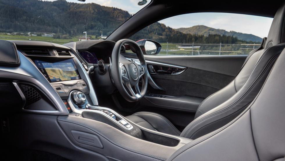 Honda NSX (interior)