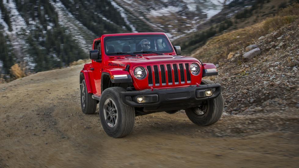 Jeep Wrangler 2018 (prueba)