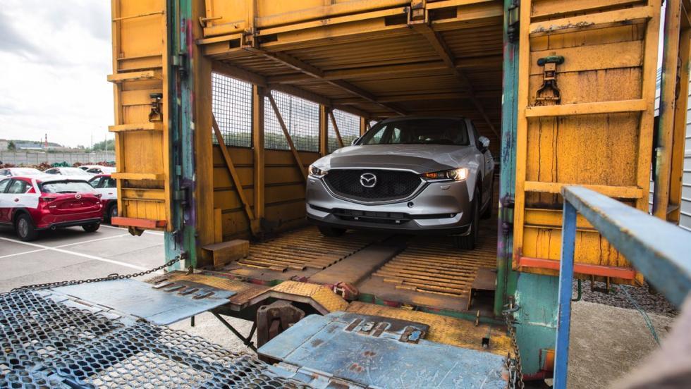 Mazda y el Transiberiano