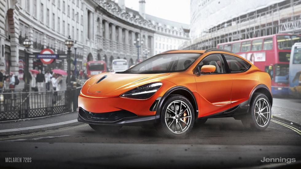 Un McLaren 720S convertido en SUV
