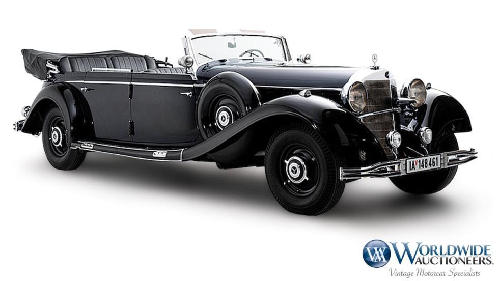 El Mercedes 770K de Hitler, a subasta