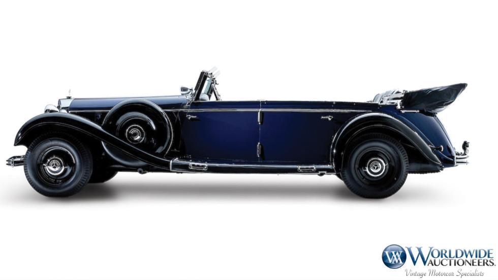 El Mercedes-Benz 770K Grosser Offener Tourenwagen de Hitler