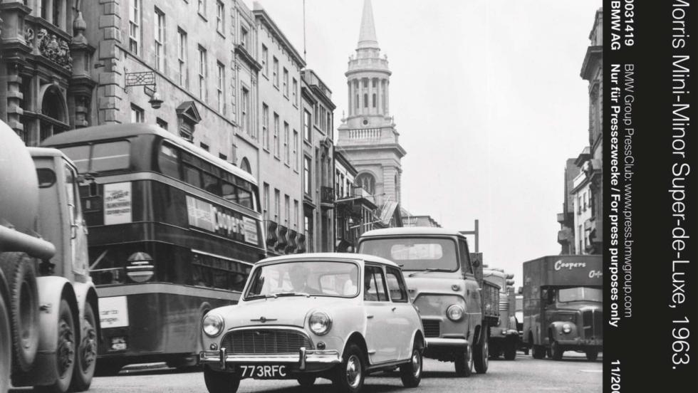 Morris Mini-Minor Super-de-Luxe (1963)