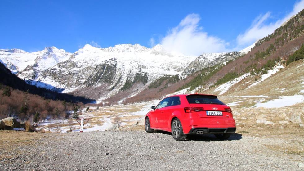 compacto tracción integral 4x4 total hielo valle de aran montaña pirineo