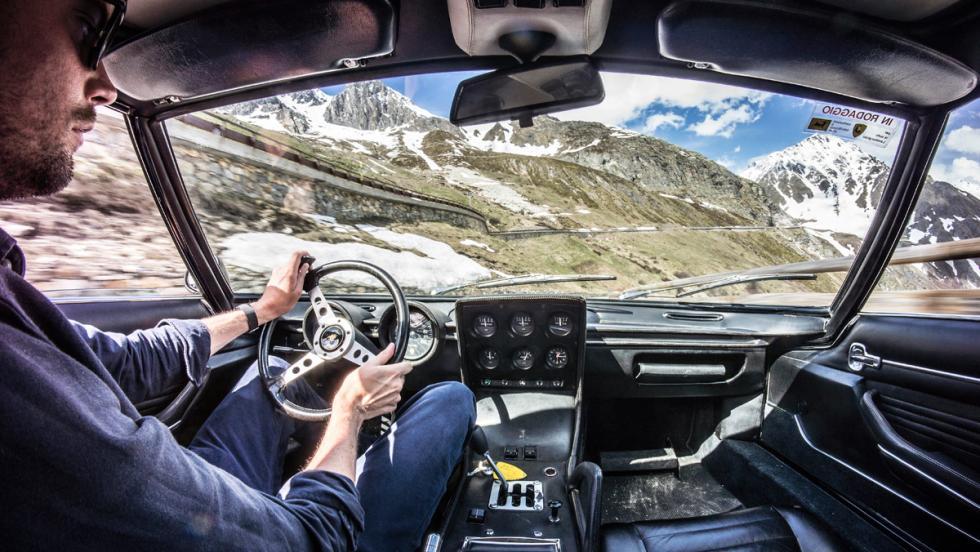 Prueba Lamborghini Miura (interior)
