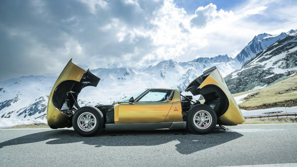 Prueba Lamborghini Miura (lateral)