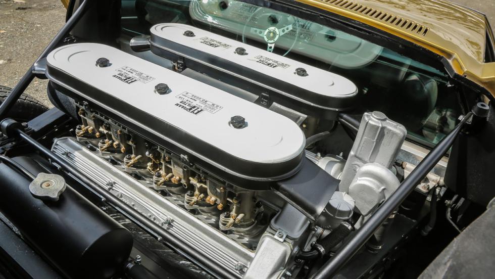 Prueba Lamborghini Miura (motor)