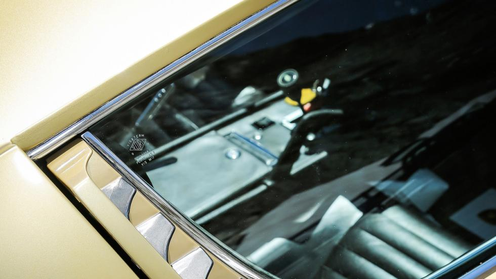 Prueba Lamborghini Miura (ventanilla)