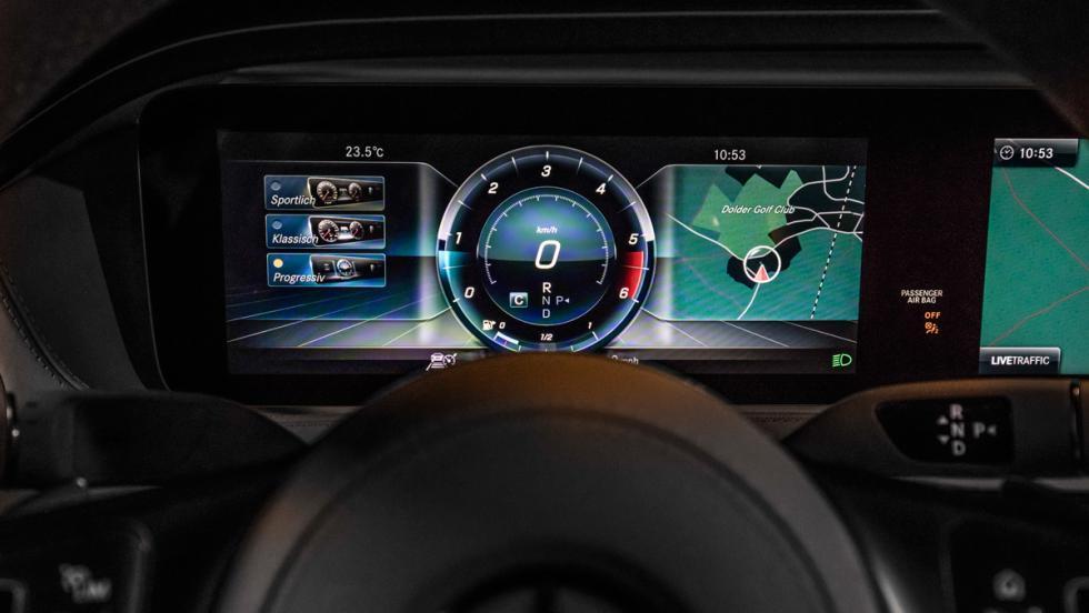 Prueba Mercedes-Benz S500L (cuadro)