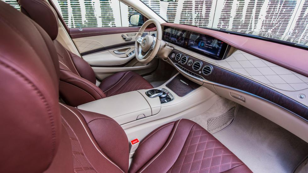 Prueba Mercedes-Benz S500L (interior)