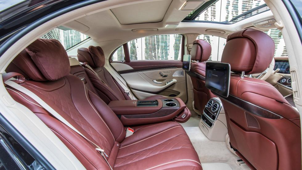 Prueba Mercedes-Benz S500L (plazas traseras)¿Qué programa wellness debería poner? El de  plutócrata,  por favor