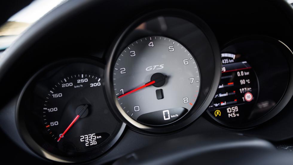 Prueba Porsche 718 Cayman GTS (cuadro)