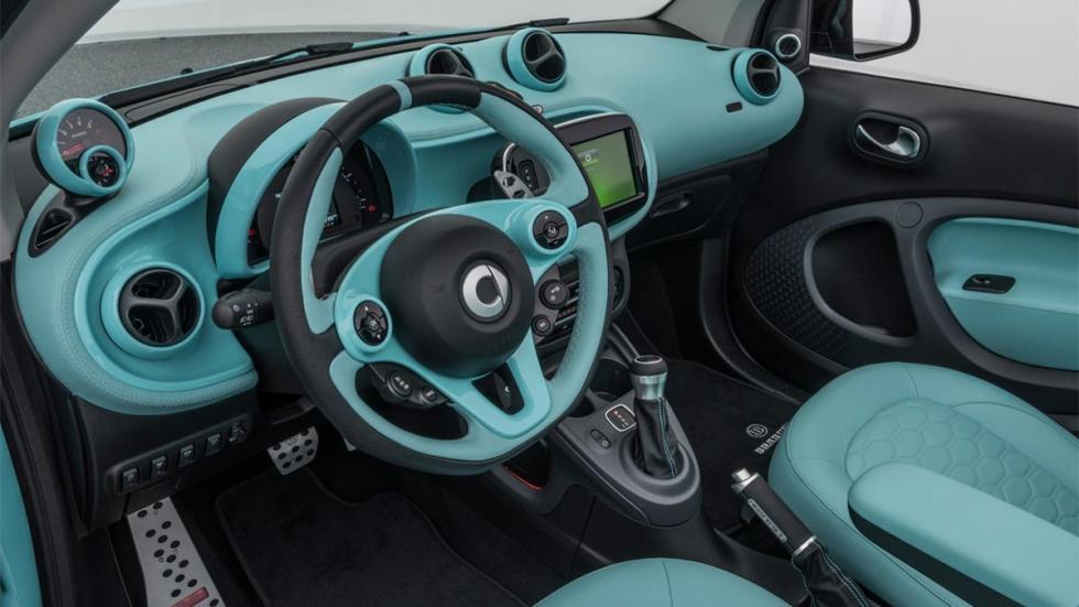 Smart Brabus Ultimate 125 preparacion lujo cuero exclusivo edicion limitada