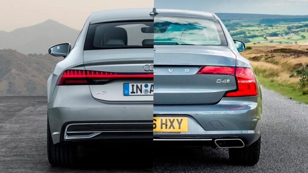 alternativas berlinas de lujo Volvo S90 V90 Audi A7 A8 representacion plan b