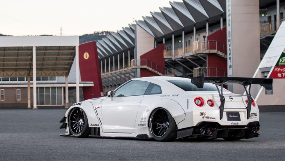 Así es el Nissan GT-R de Liberty Walk