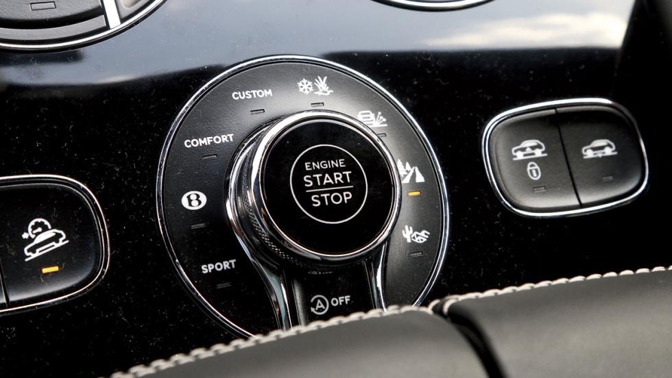 Bentley Bentayga (modos conducción)
