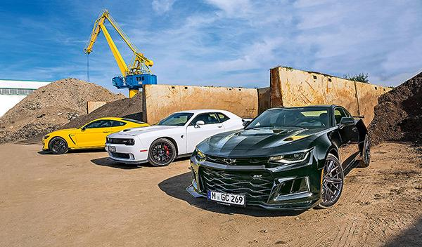 Camaro ZL1/Challenger Hellcat/Mustang Shelby GT350