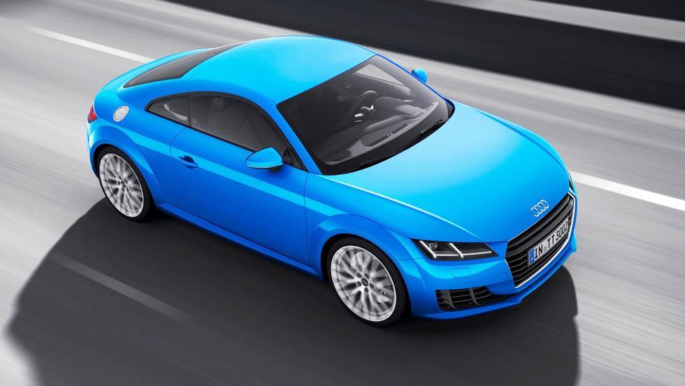 Los deportivos más vendidos en España en 2017 - Audi TT