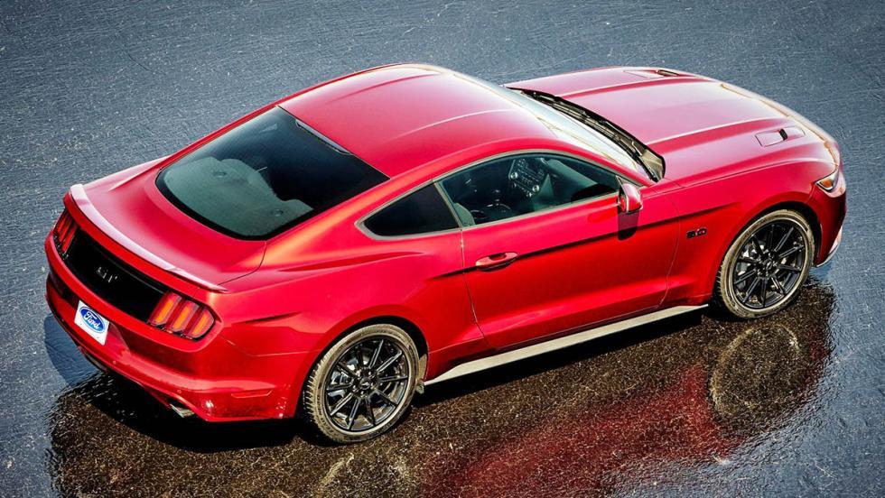 Los deportivos más vendidos en España en 2017 - Ford Mustang
