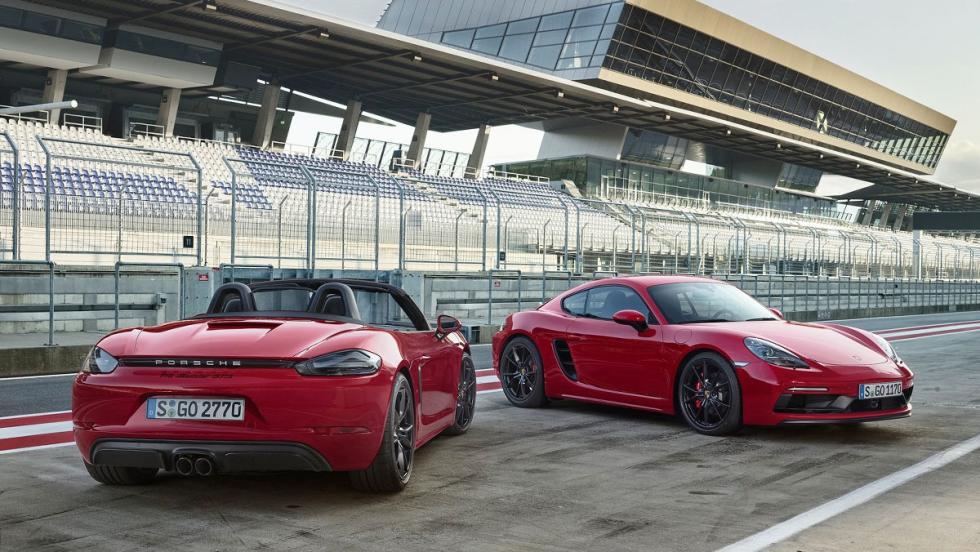 Los deportivos más vendidos en España en 2017 - Porsche 718