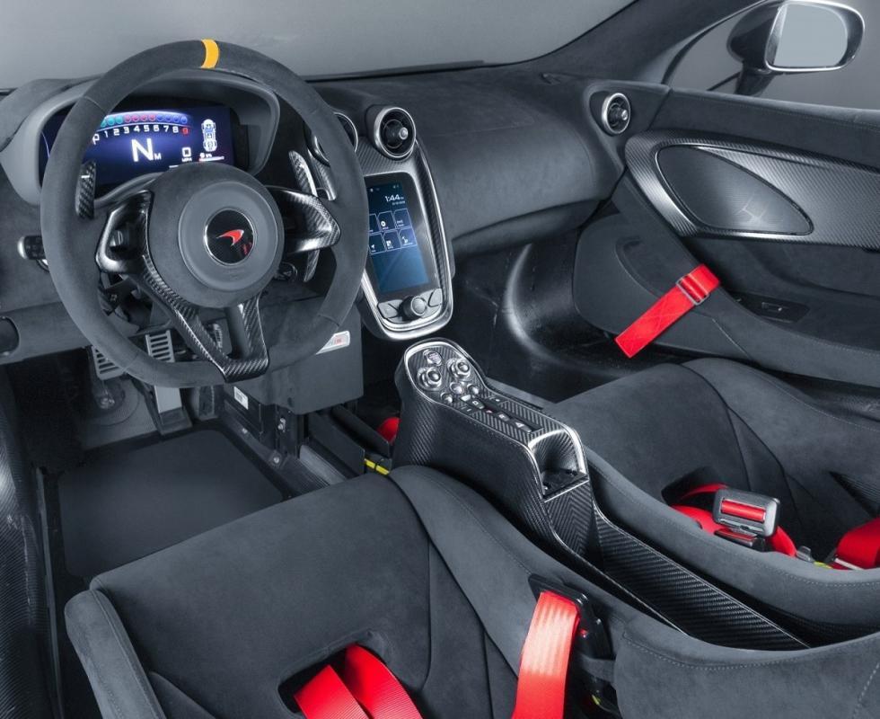 McLaren MSO X #08 & #10