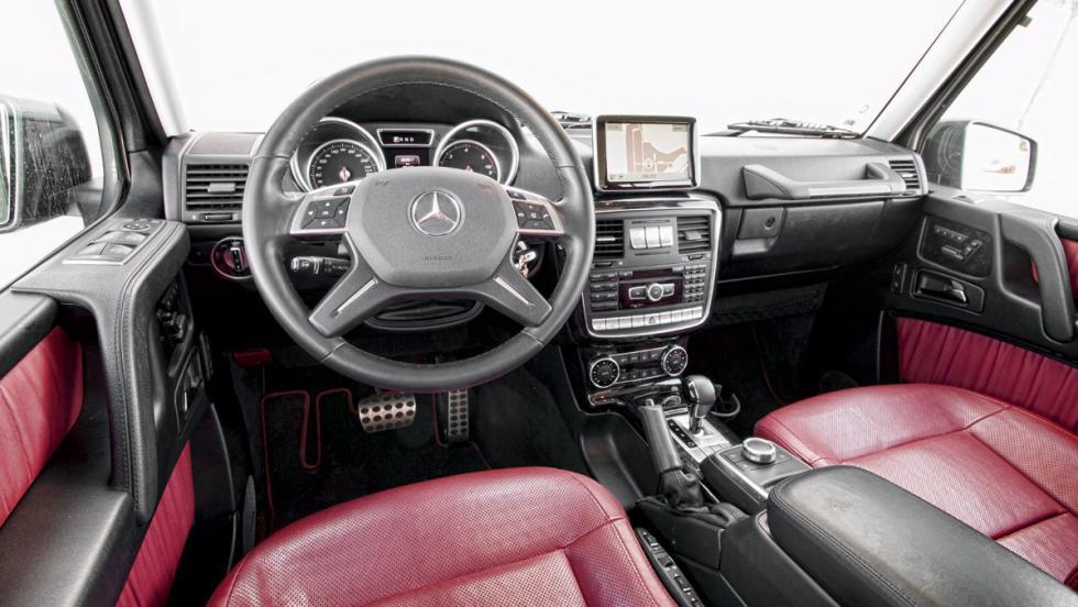 Mercedes Clase G (interior)