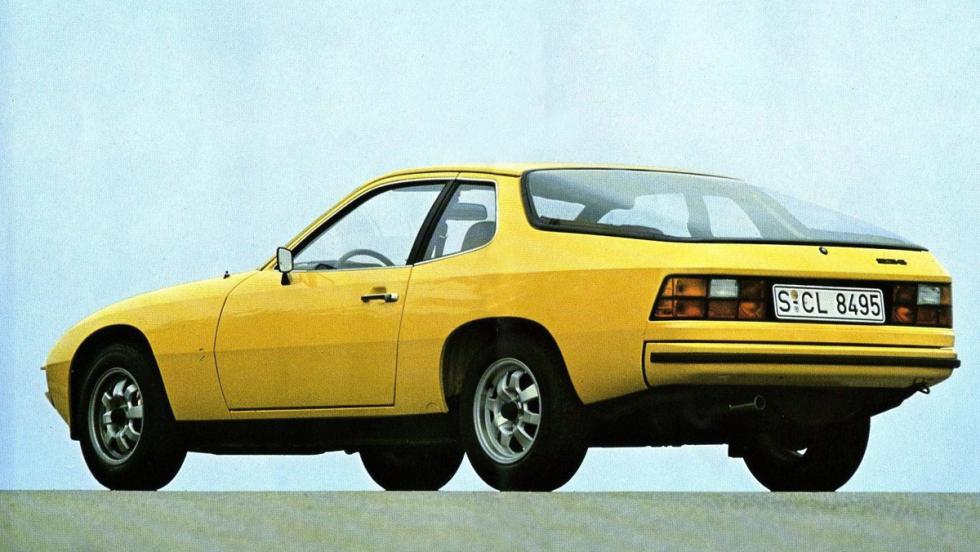 Porsche 924 (amarillo)