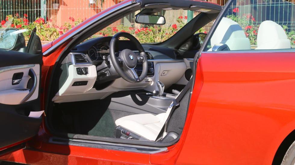 Descapotable lujo altas prestaciones Serie 4 cabriolet sunset orange naranja ebro