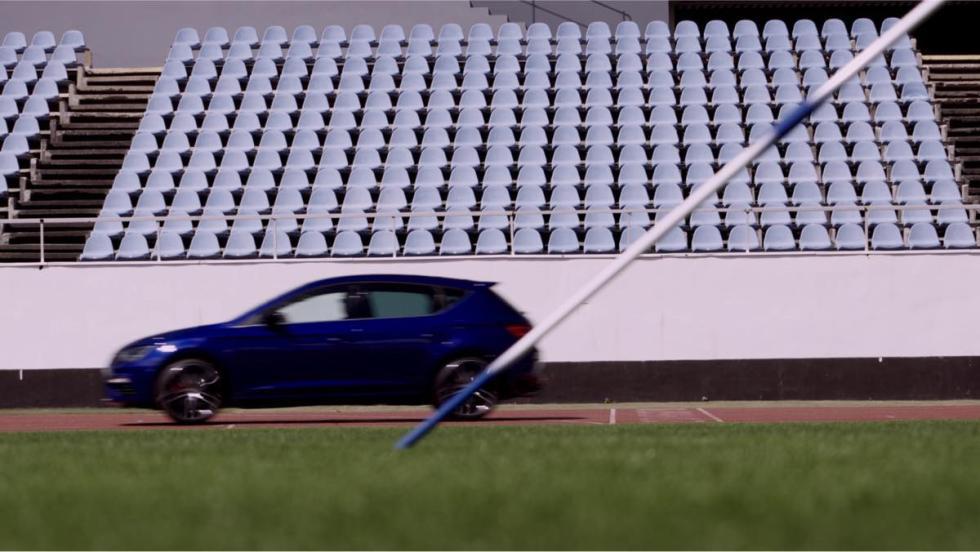 Seat León Cupra vs jabalina