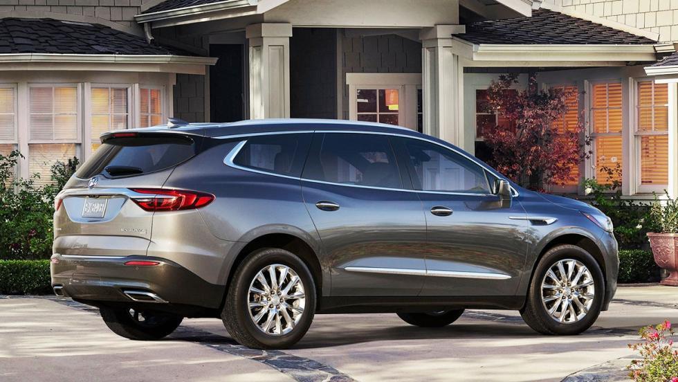 Las sorpresas del mercado español en 2017 - Buick Enclave