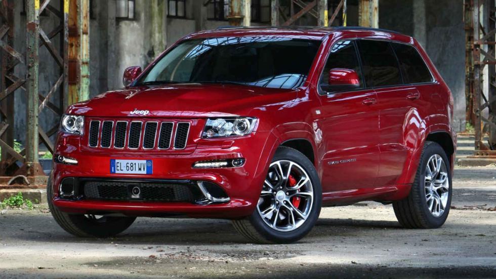 Los SUV que más consumen Jeep Grand Cherokee SRT8