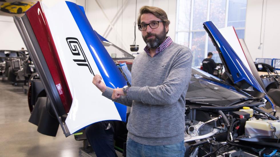 Fábrica Ford GT