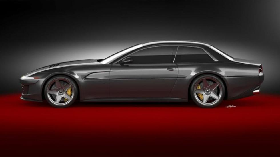one-off prototipo proyecto gtc4lusso 2+2 lujo