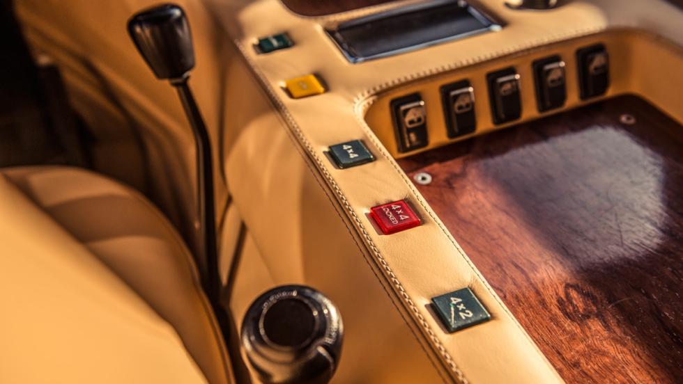 Prueba Lamborghini LM002 (cambio)