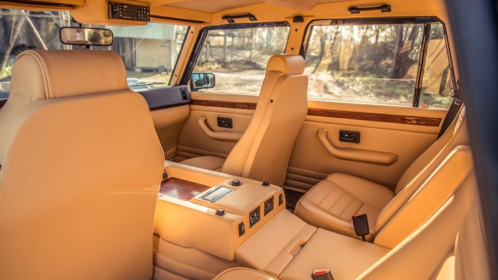 Prueba Lamborghini LM002 (interior)