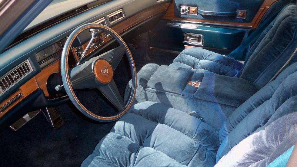 Tapicería Cadillacs años 70