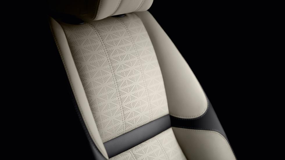 Tapicería Range Rover Velar: 'textil premium'