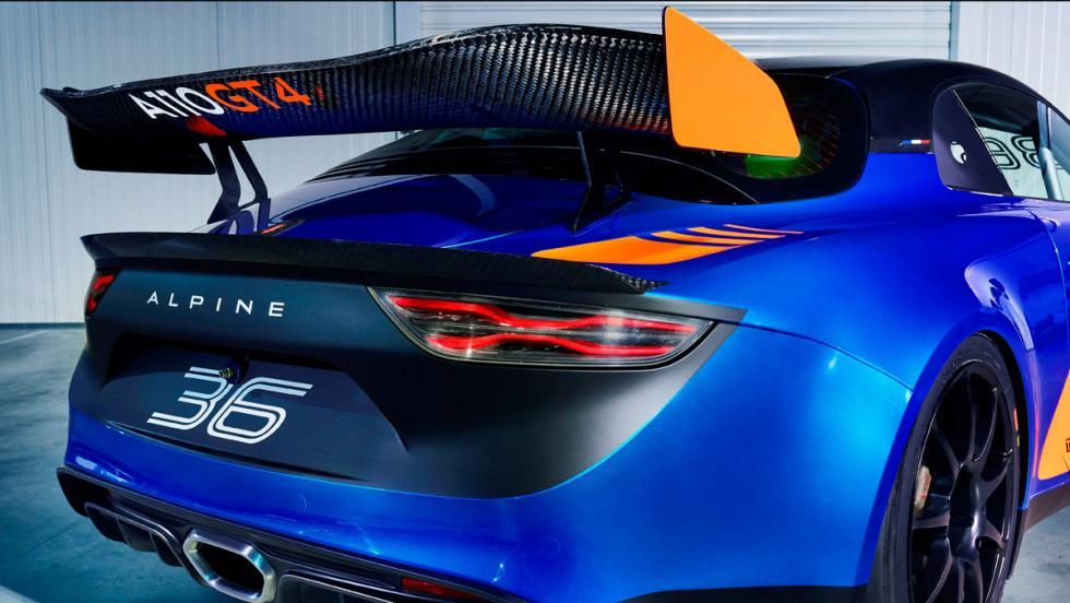Alpine A110 GT4 (alerón)
