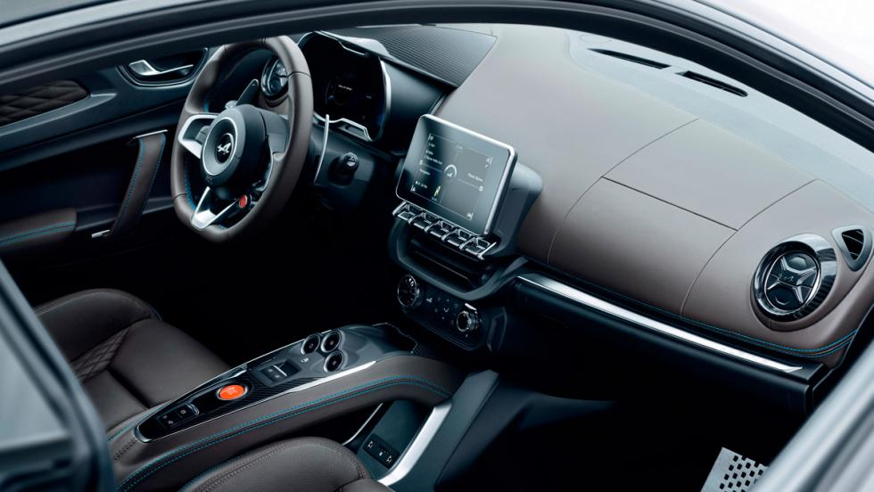 Alpine A110 Légende (interior)